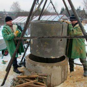 докопка колодца в Новой Москве